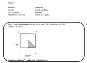 Gambar salah satu soalan konstruk memahami dalam modul latihan kbat matematik sekolah rendah