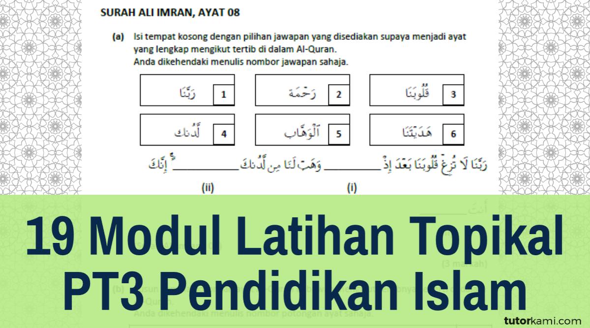 Jawapan Penilaian Buku Teks Pendidikan Islam Tingkatan 3