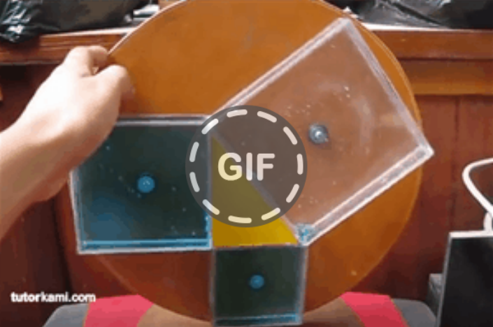 Gif cover image proving teorem pythagoras in an innovative way