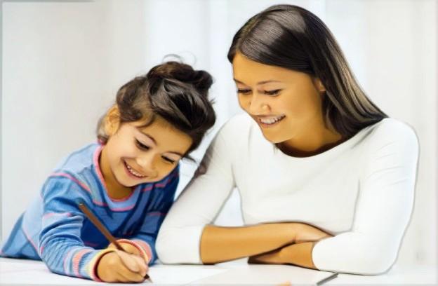 Ujian Saringan Tahun 1: Seorang kanak-kanak belajar dengan Home Tutor